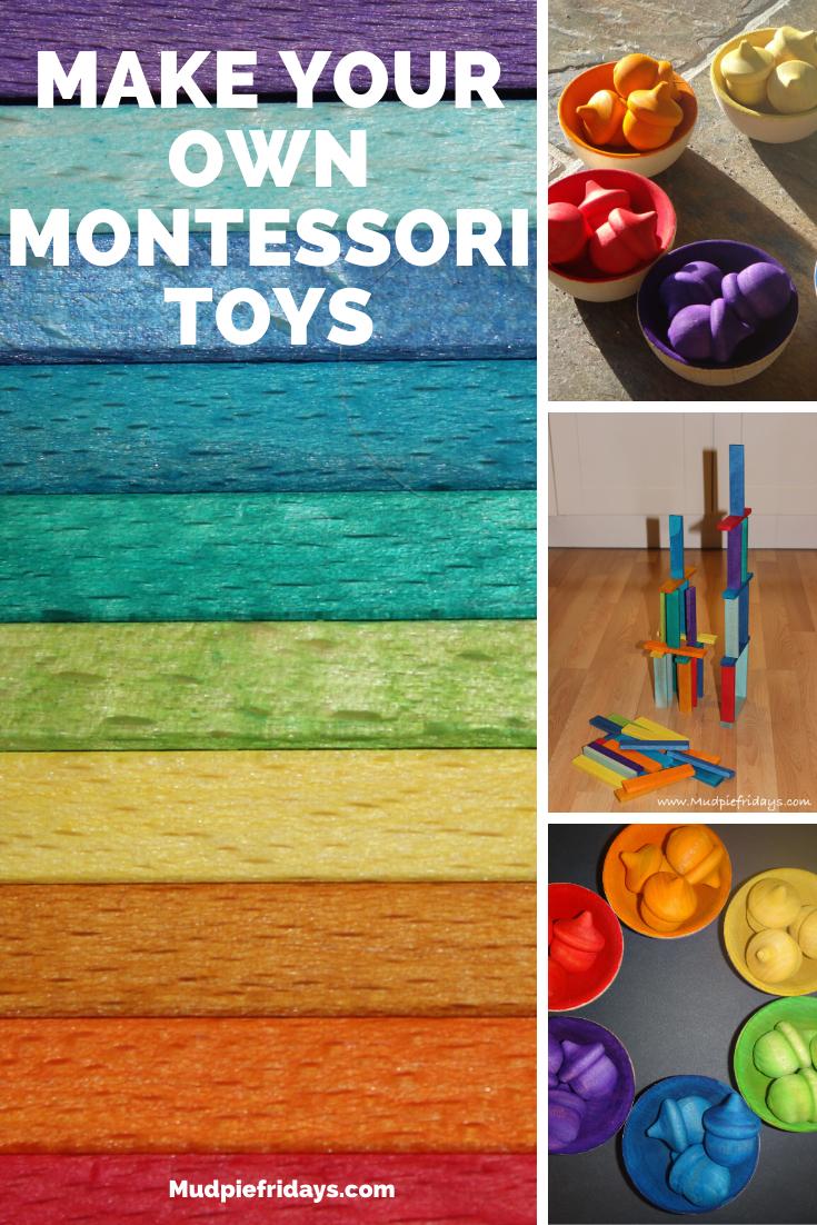 Make your own Montessori Toys