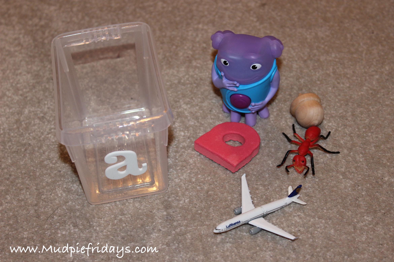 Alphabet Boxes - Preschooler Montessori