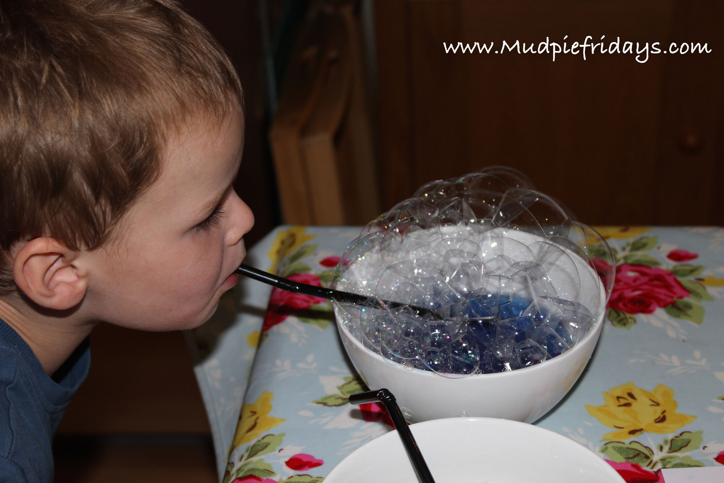 Painting with Bubbles