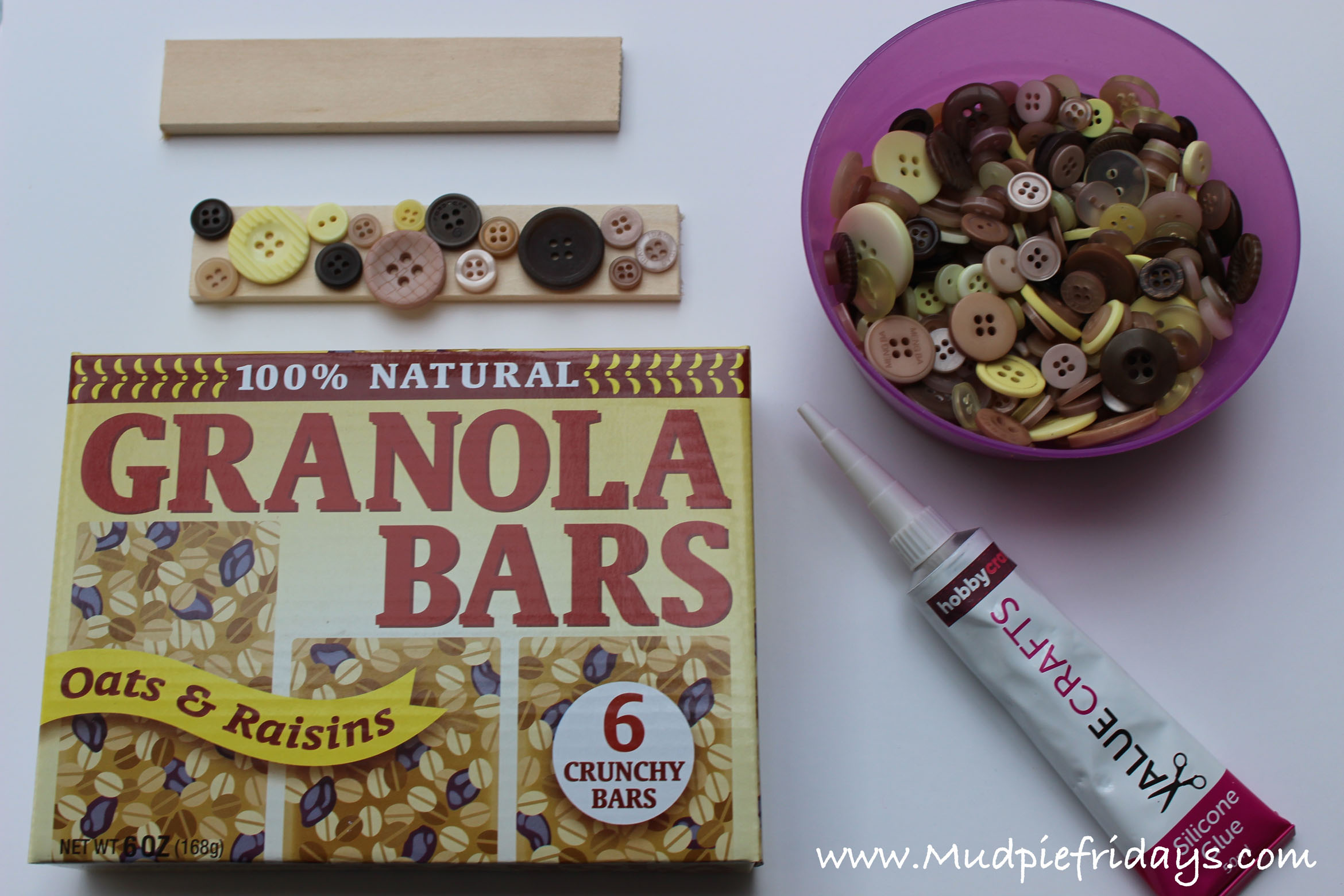 DIY Ganola Bars Playfood
