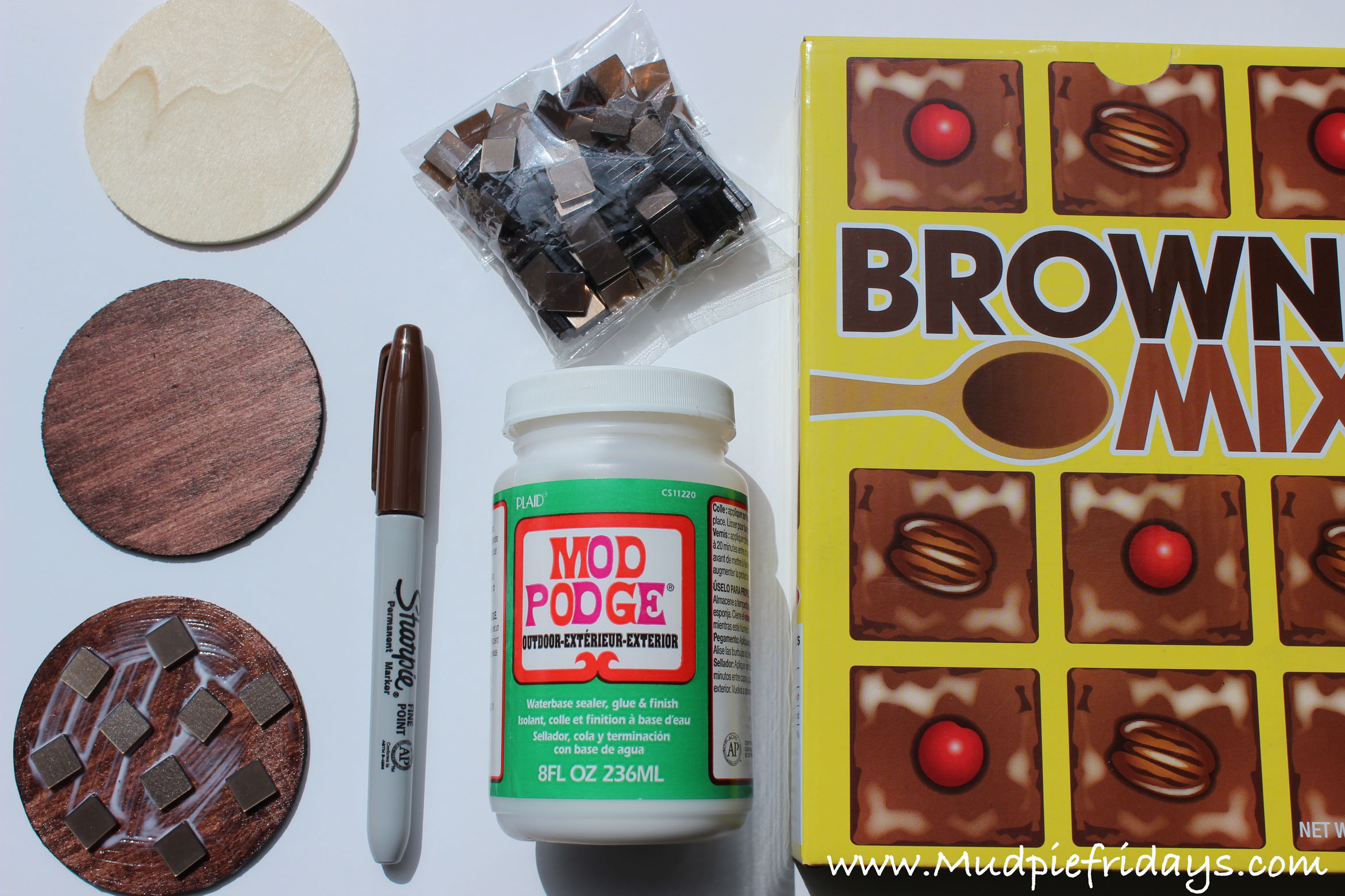 Playfood Chocolate Brownies
