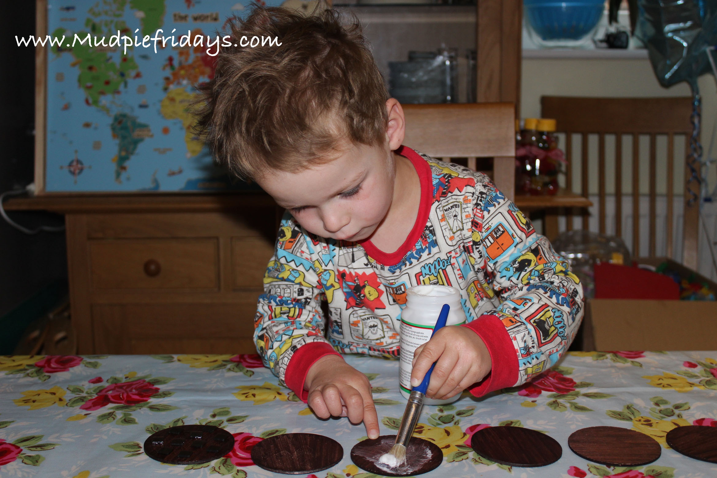 DIY playfood Chocolate Brownies