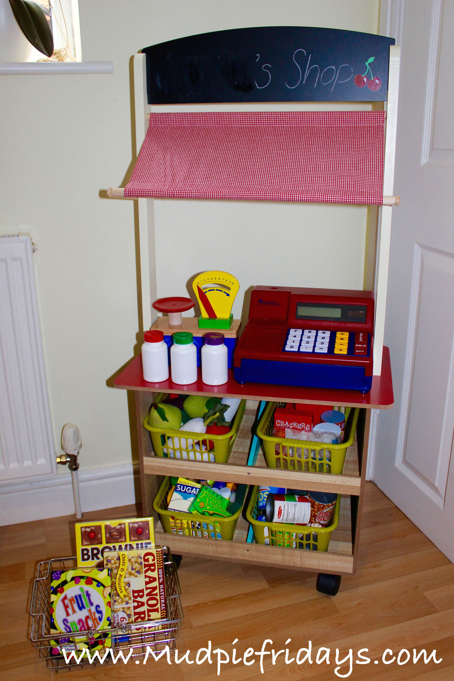 Playing Shops With Diy Play Food