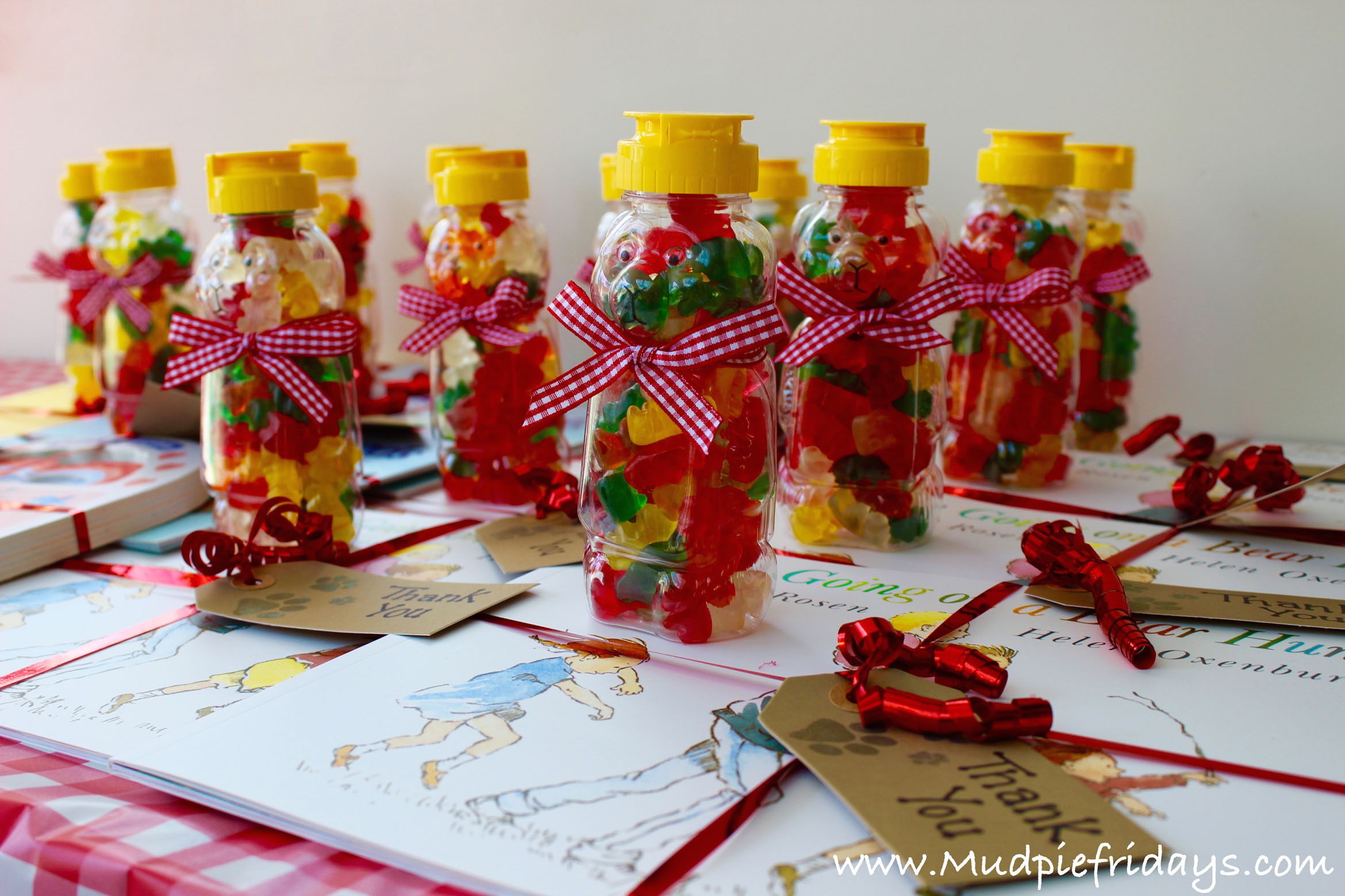 Going on Bear Hunt Party Favours