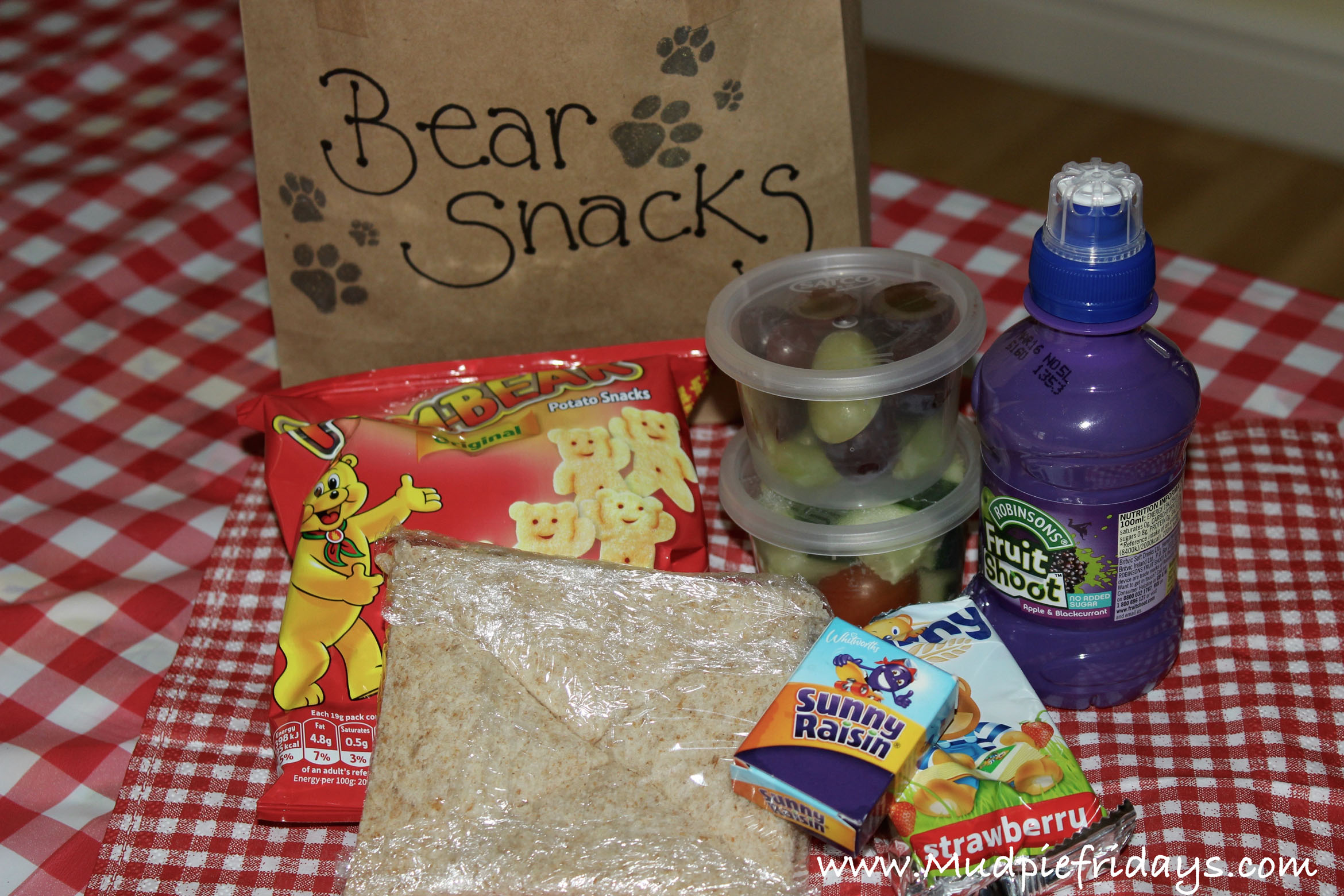 Going on Bear Hunt Party Food