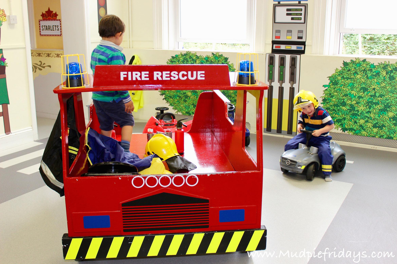 Little Streets Fire Engine