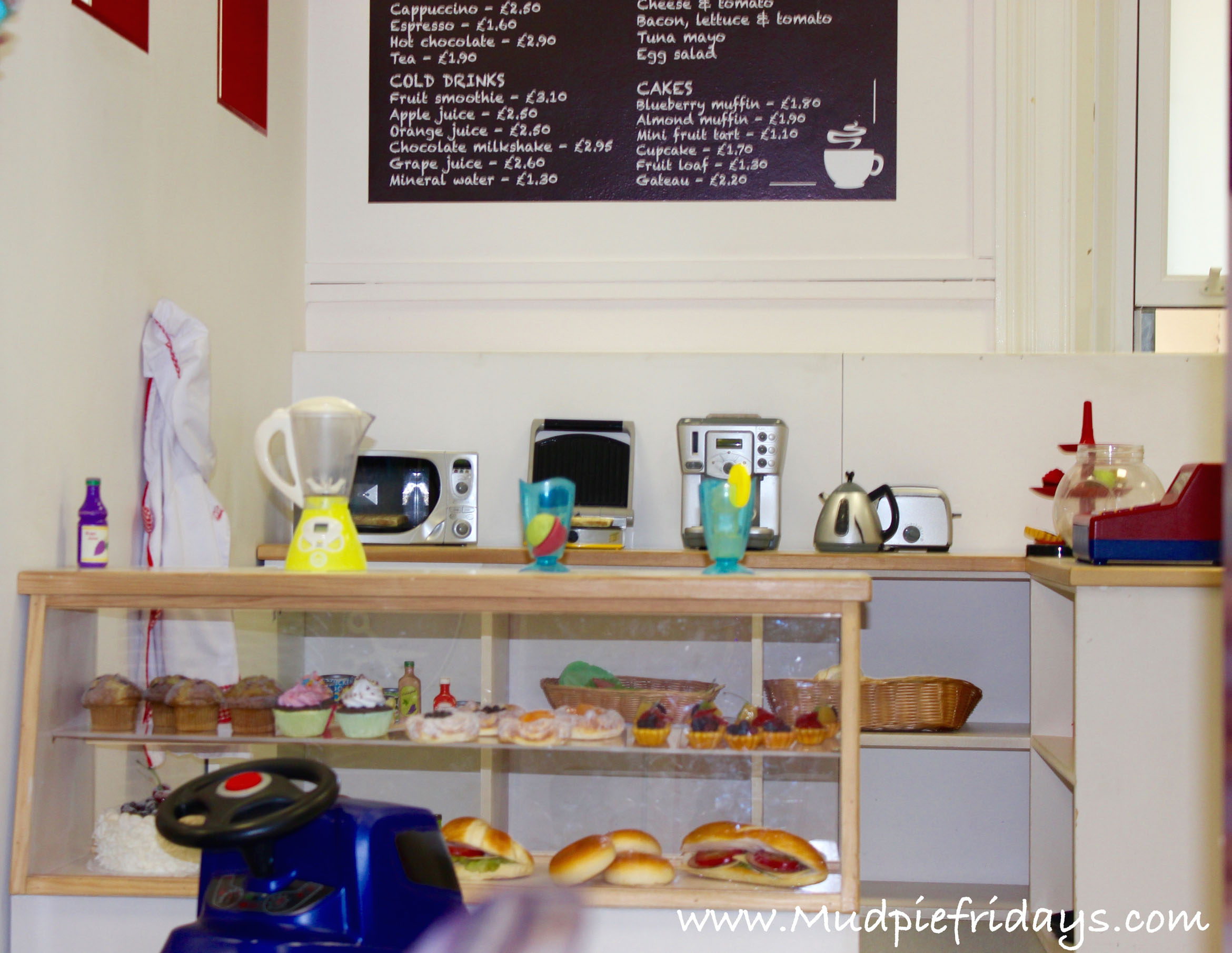 Role Play Cafe at Little Streets