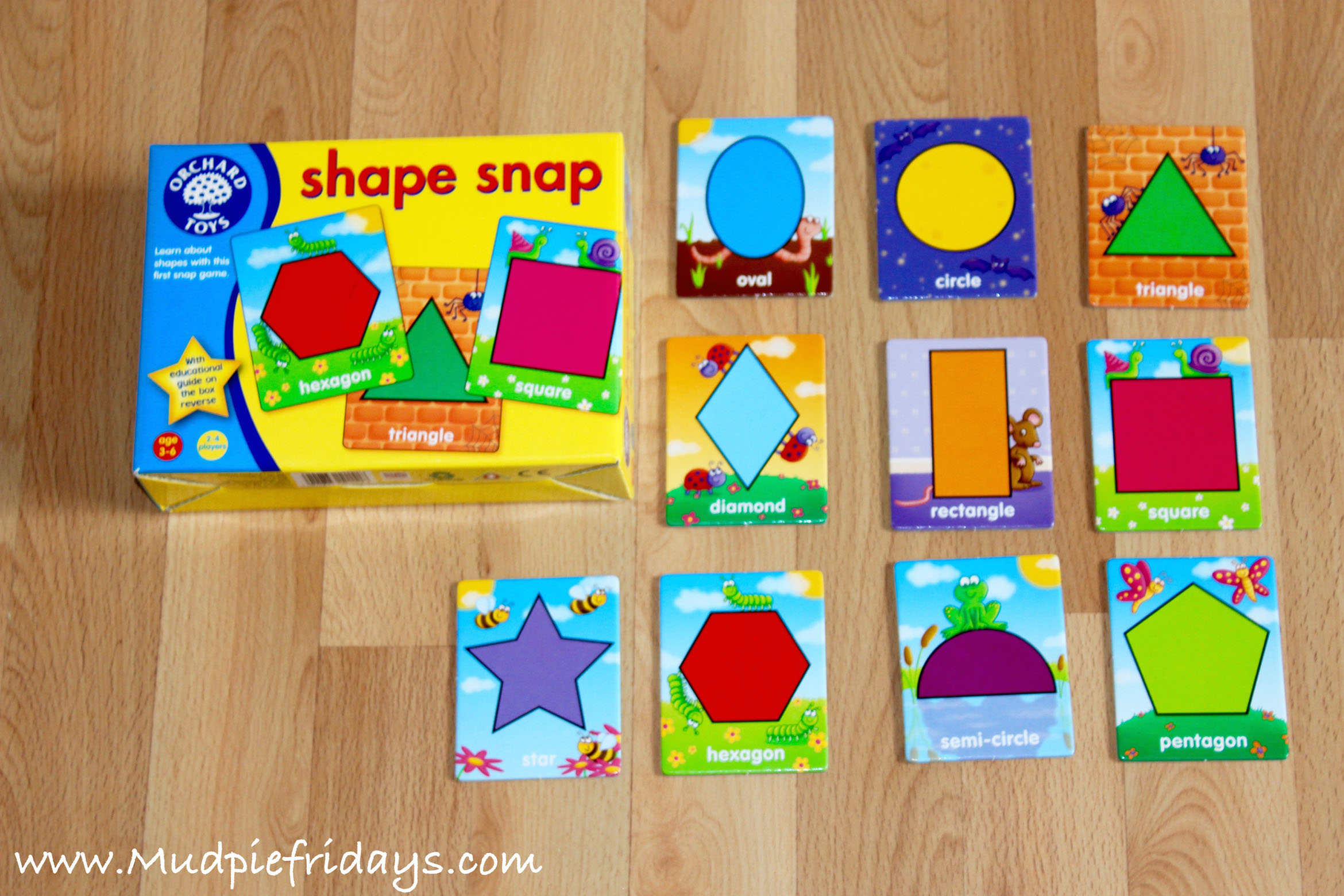 Orchard Games Shape Snap