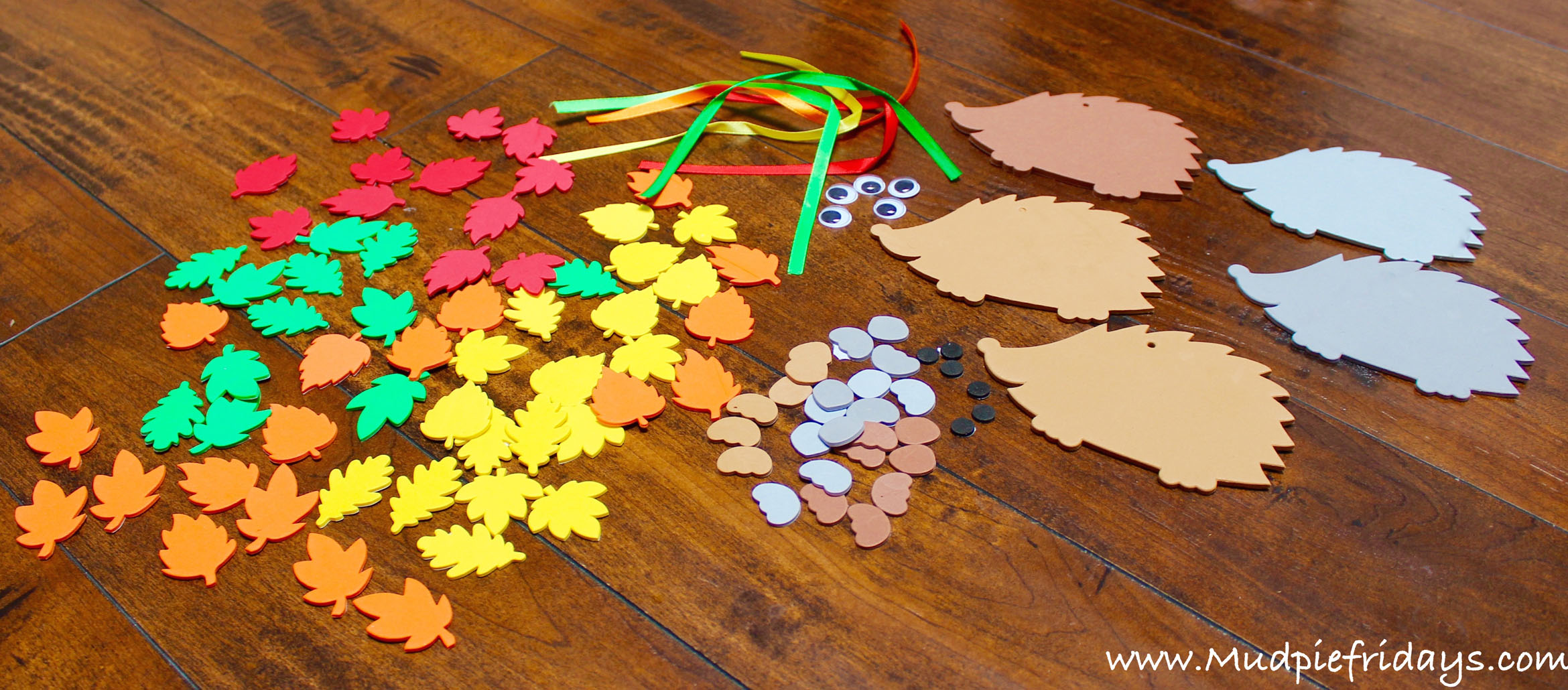 Hedgehog Decorations Craft Kit