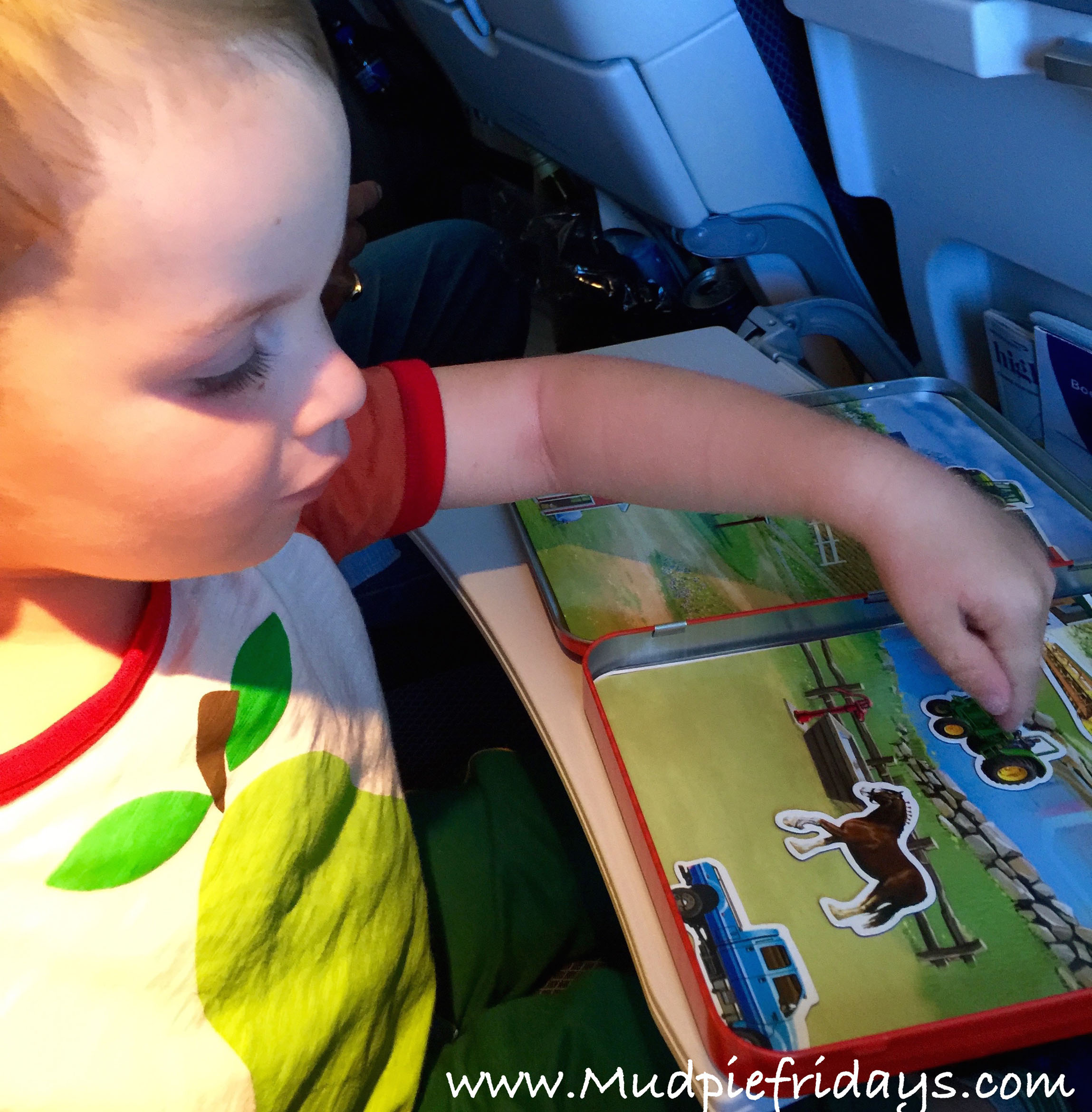 Flying with a 3yr Old
