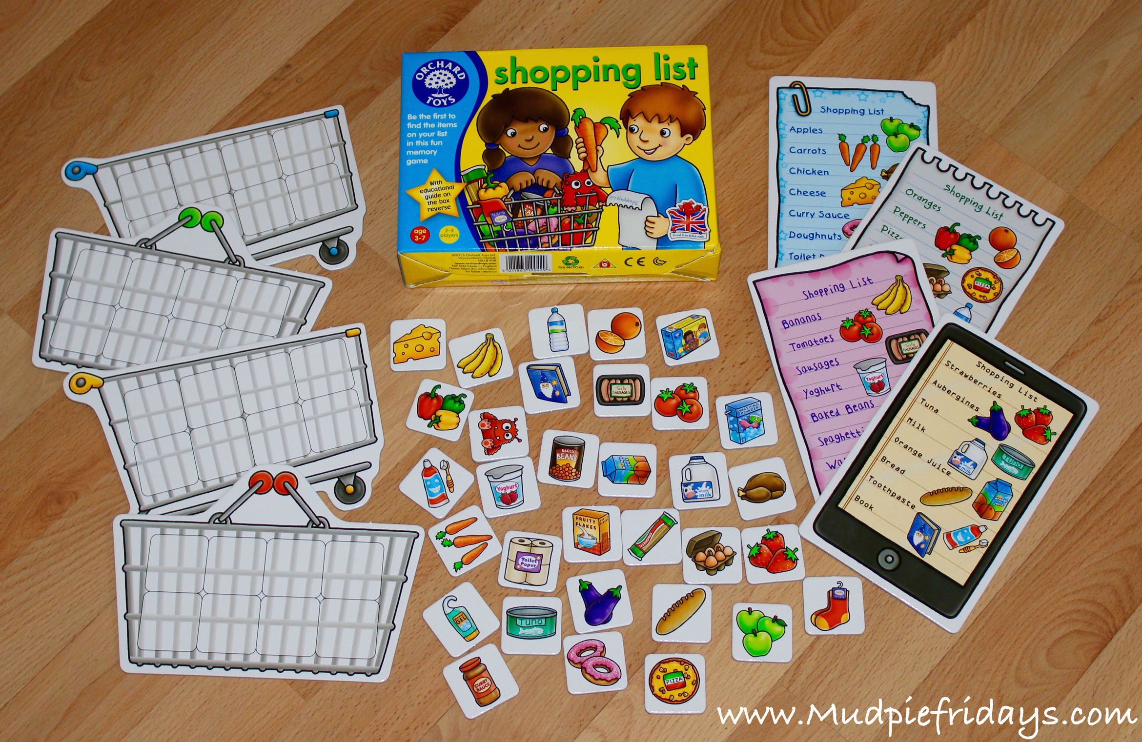 Orchard Toys Supermarket Game Review