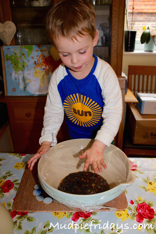 Making Christmas Cake