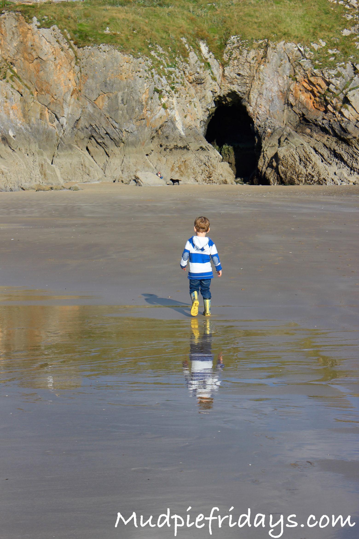 Tenby Beach Wales Pembrokeshire