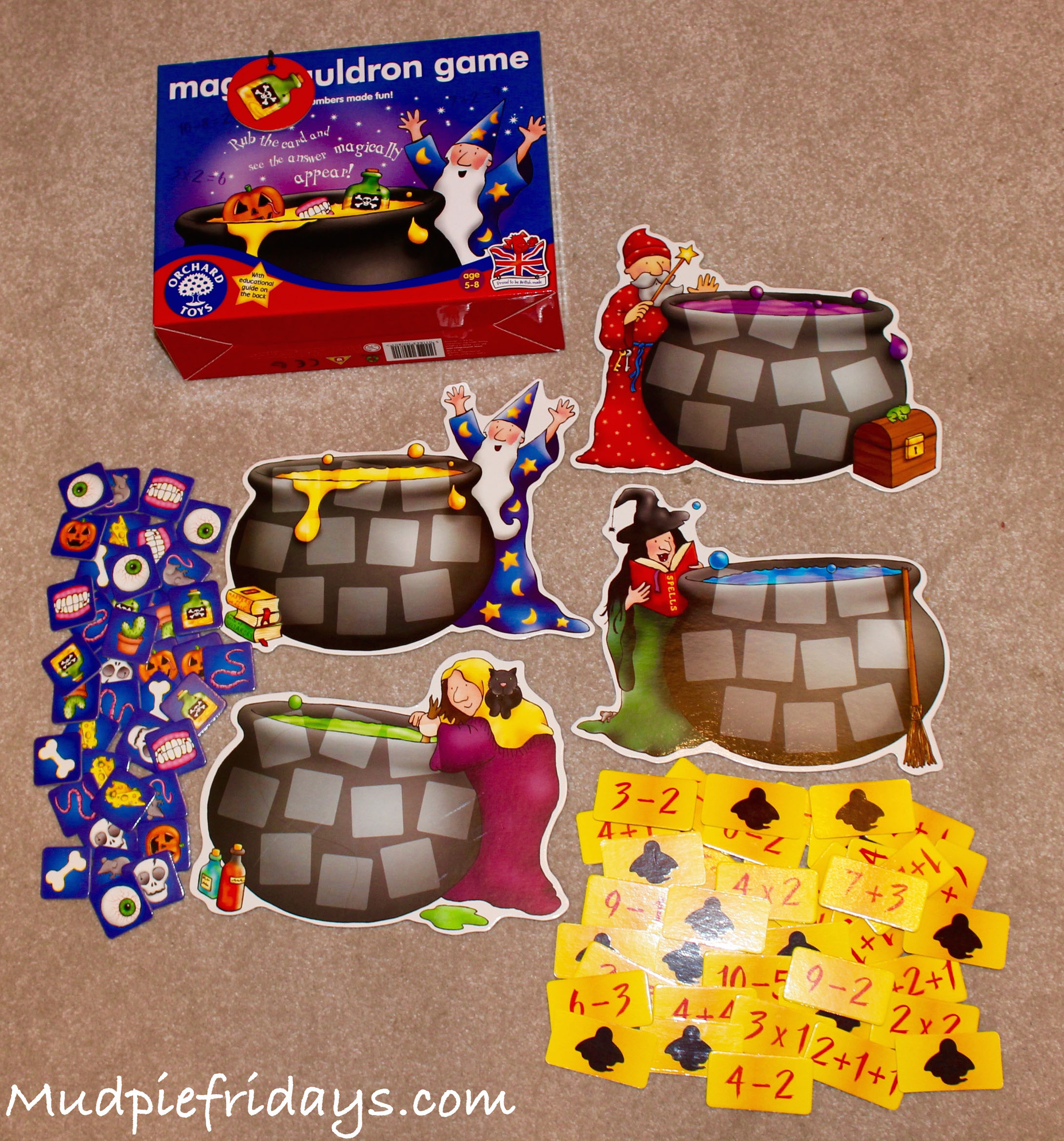 Money Match Café Orchard Toys Number /& Counting Game 5-8 Years