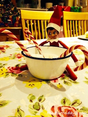 Elf on the Shelf for a 2 year old
