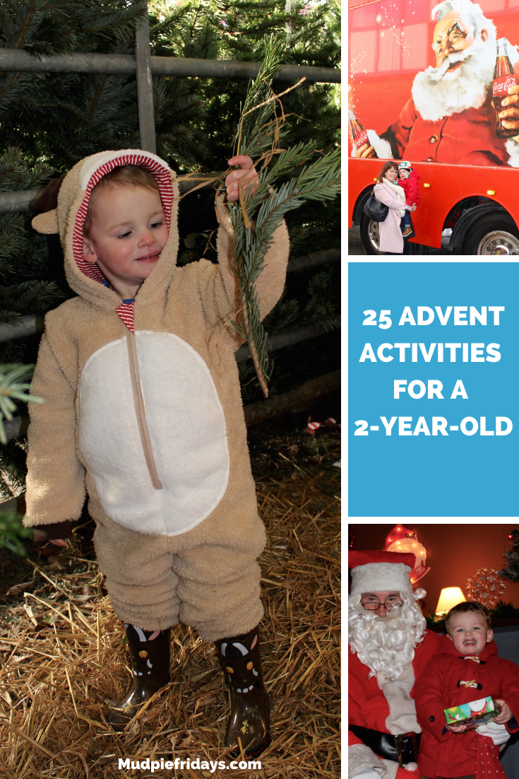 25 Advent Activities for a 2-year-old