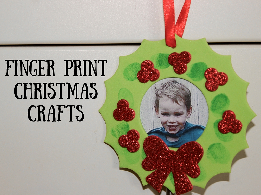Finger Print Christmas Craft Mudpiefridays Com