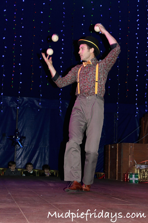 Squires Garden Centre Christmas Circus