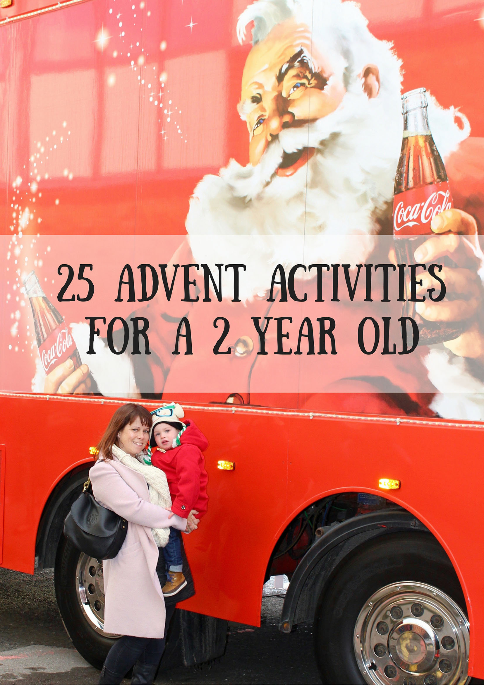 25 ADVENT ActivitiesFor a 2 year Old