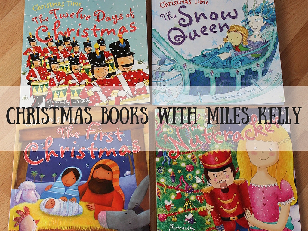 Christmas Books with Miles Kelly
