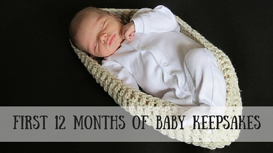 First 12 months of Baby Keepsakes