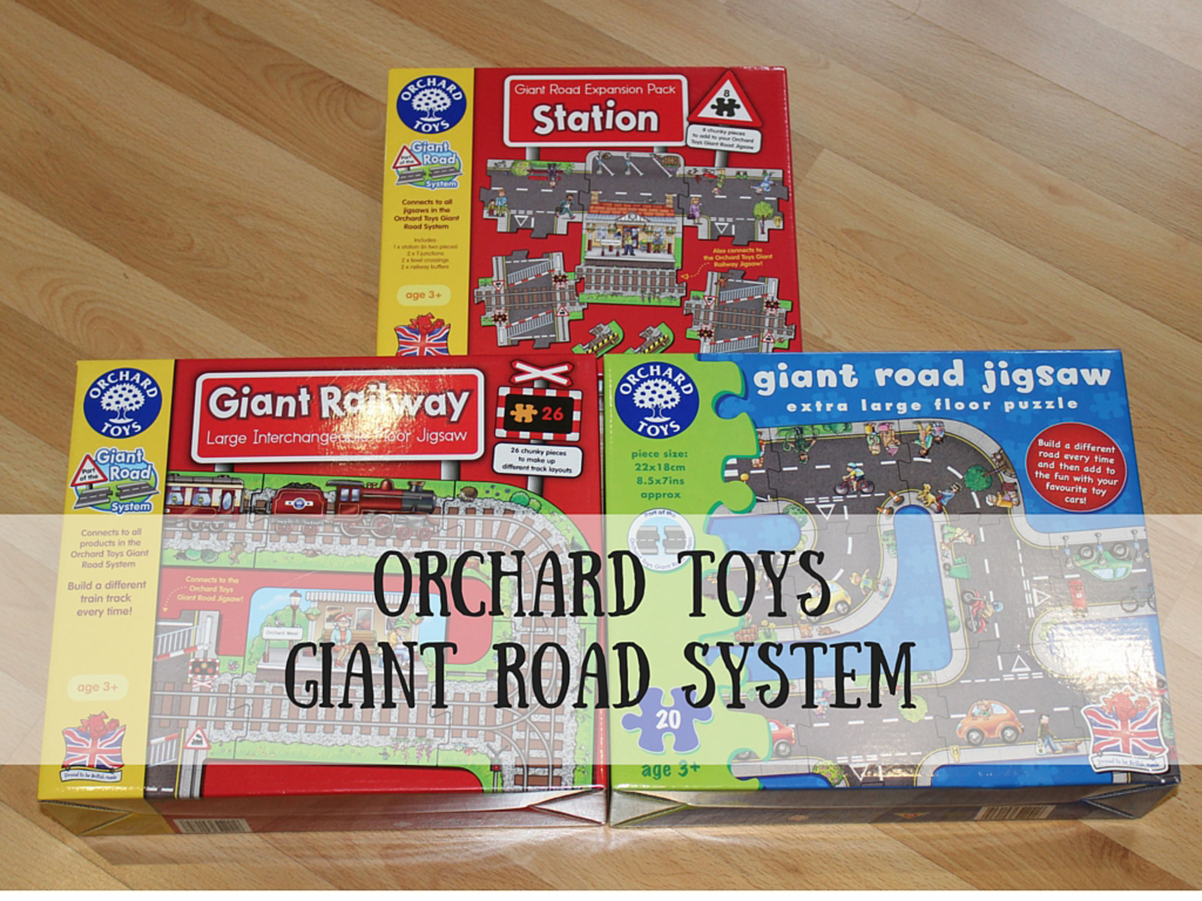 Orchard ToysGIANT ROAD SYSTEM