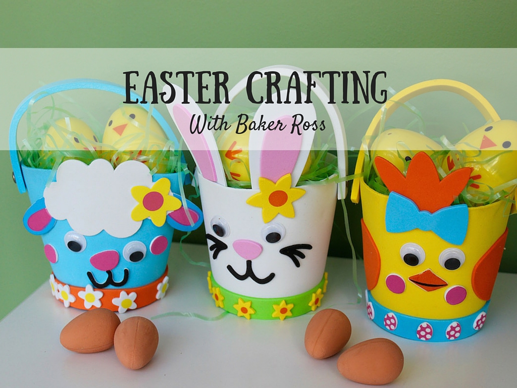 Easter Crafting with Baker Ross