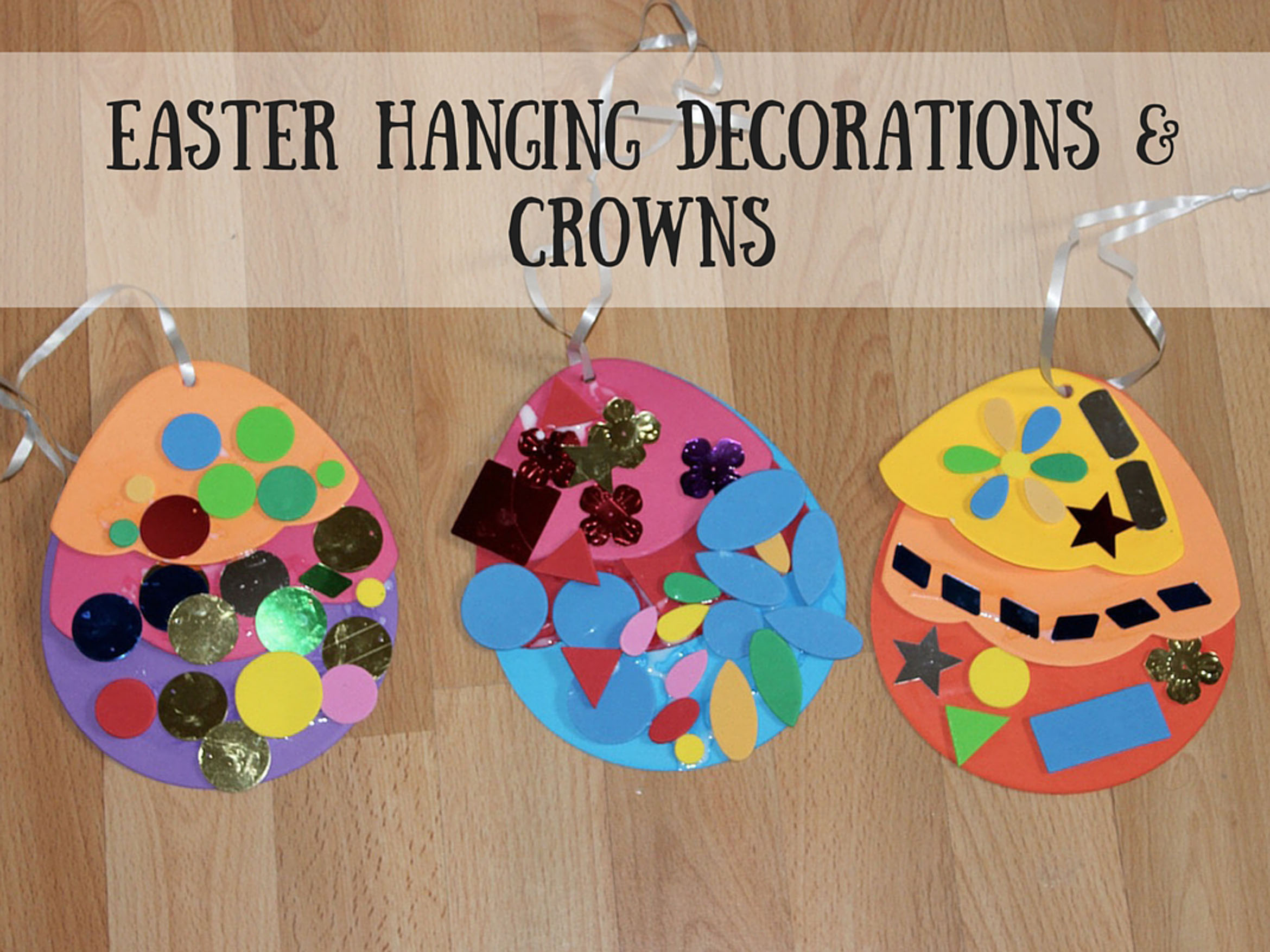Easter hanging decorations & crowns