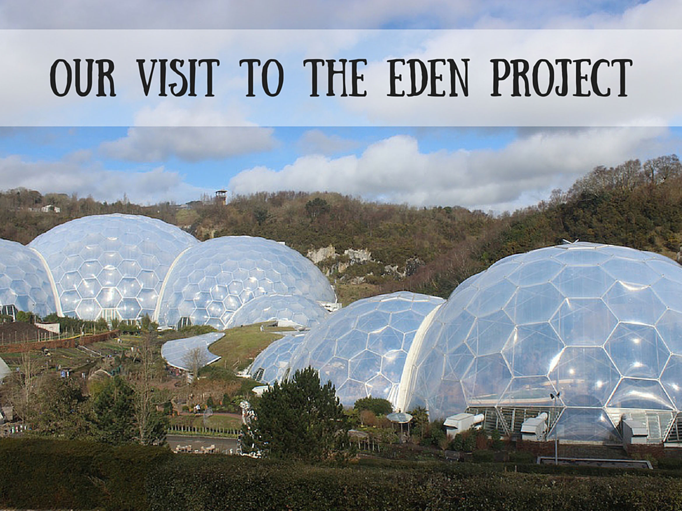 Our Visit to the Eden Project