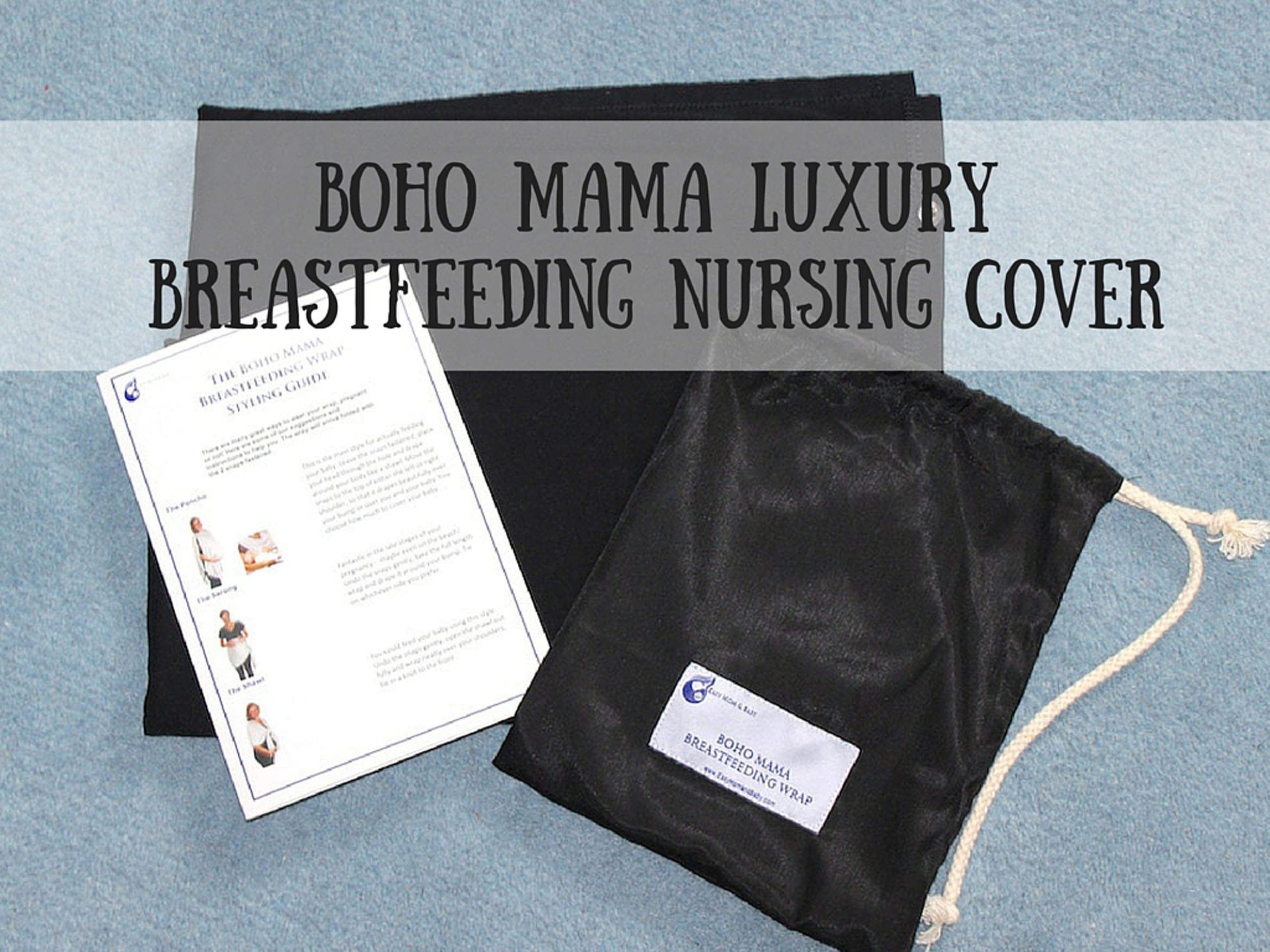 Boho Mama Luxury Breastfeeding Nursing Cover