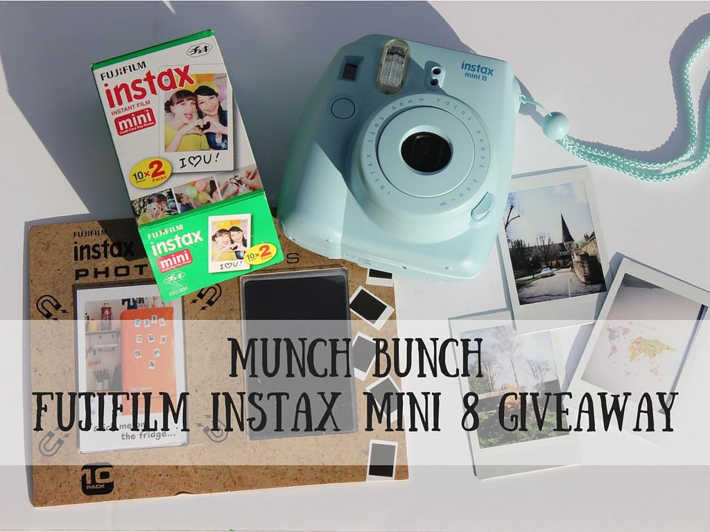 Munch Bunch Fujifilm Instax Mini 8 Giveaway