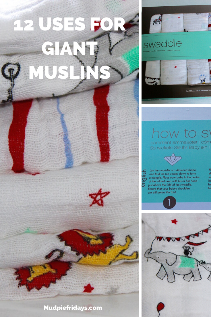 12 Uses for Giant Muslins