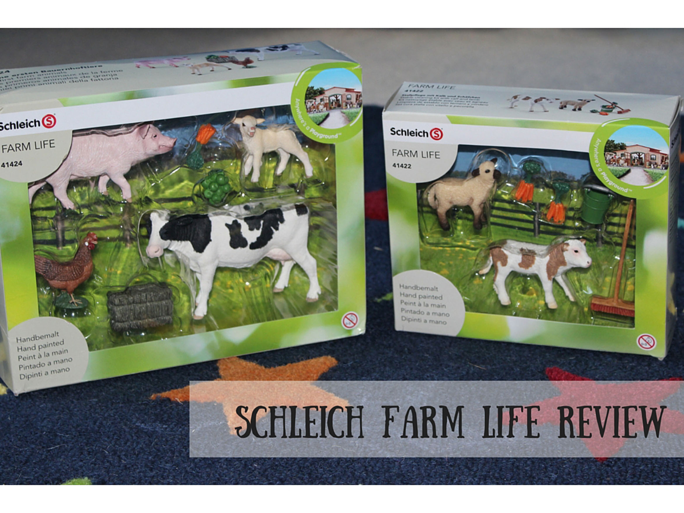 Schleich Farm Life Review