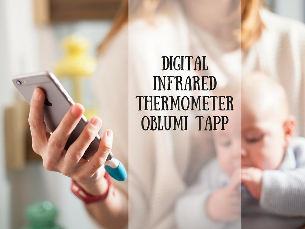 Digital Infrared ThermometerOblumi Tapp-2