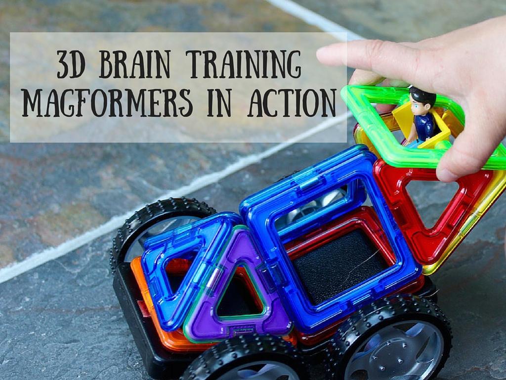 3D Brain TrainingMagformers in action