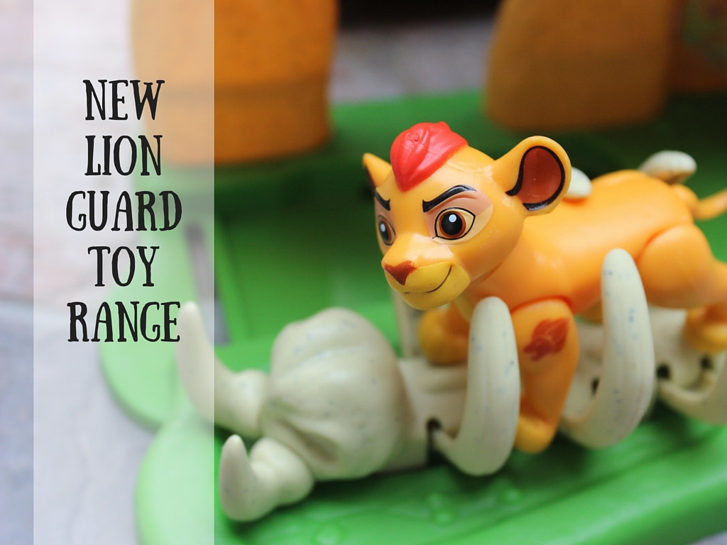 New LionGuardToyRange