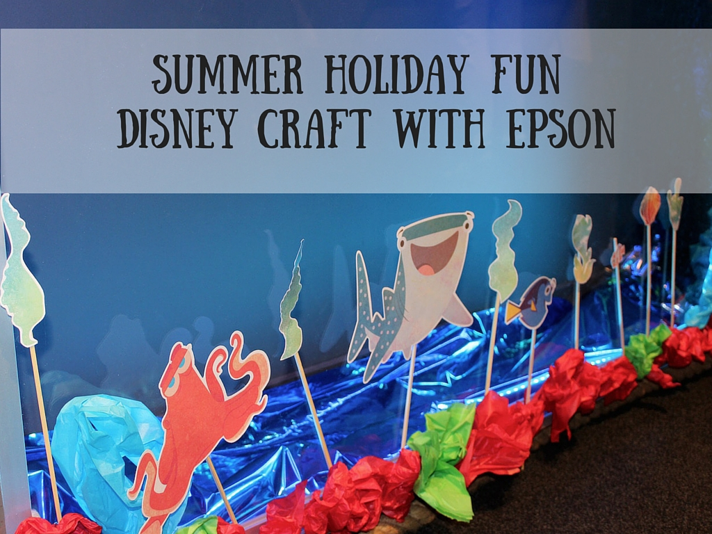 Summer Holiday Fun Disney Craft with Epson