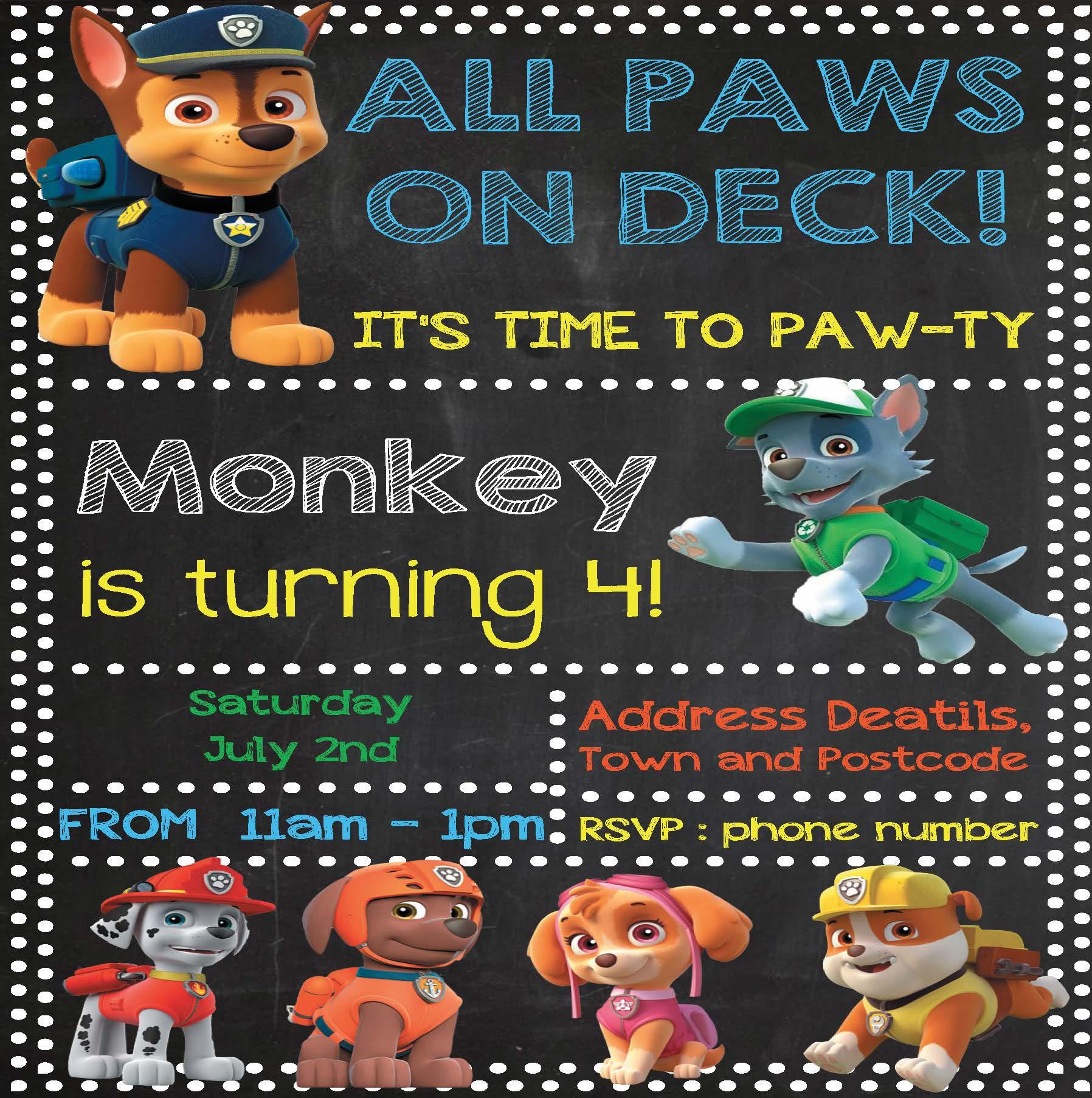 PawPatrol example