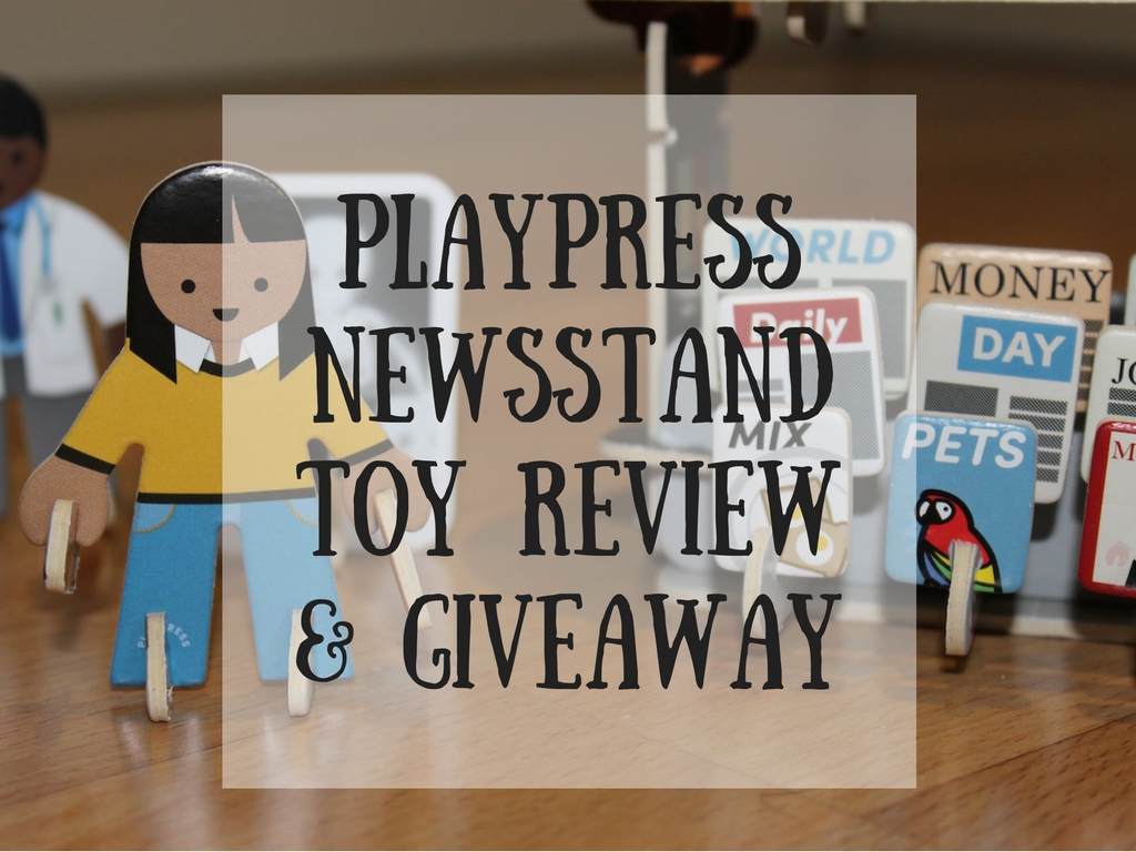 playpressnewsstandtoy review& giveaway