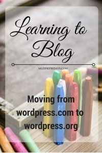 Moving from wordpress.com to wordpress.org