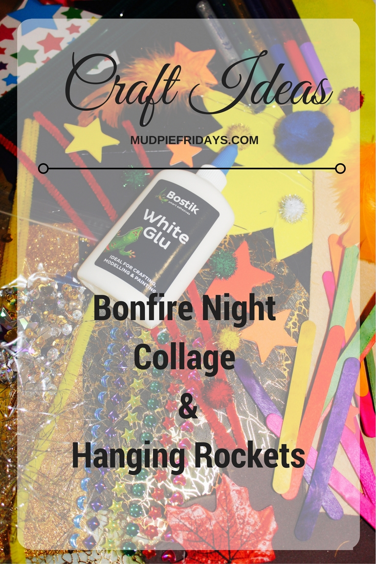 Bonfire Night Collage Hanging Rockets Mudpiefridays Com