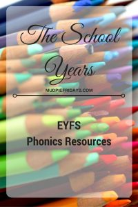EYFS Phonics Resources