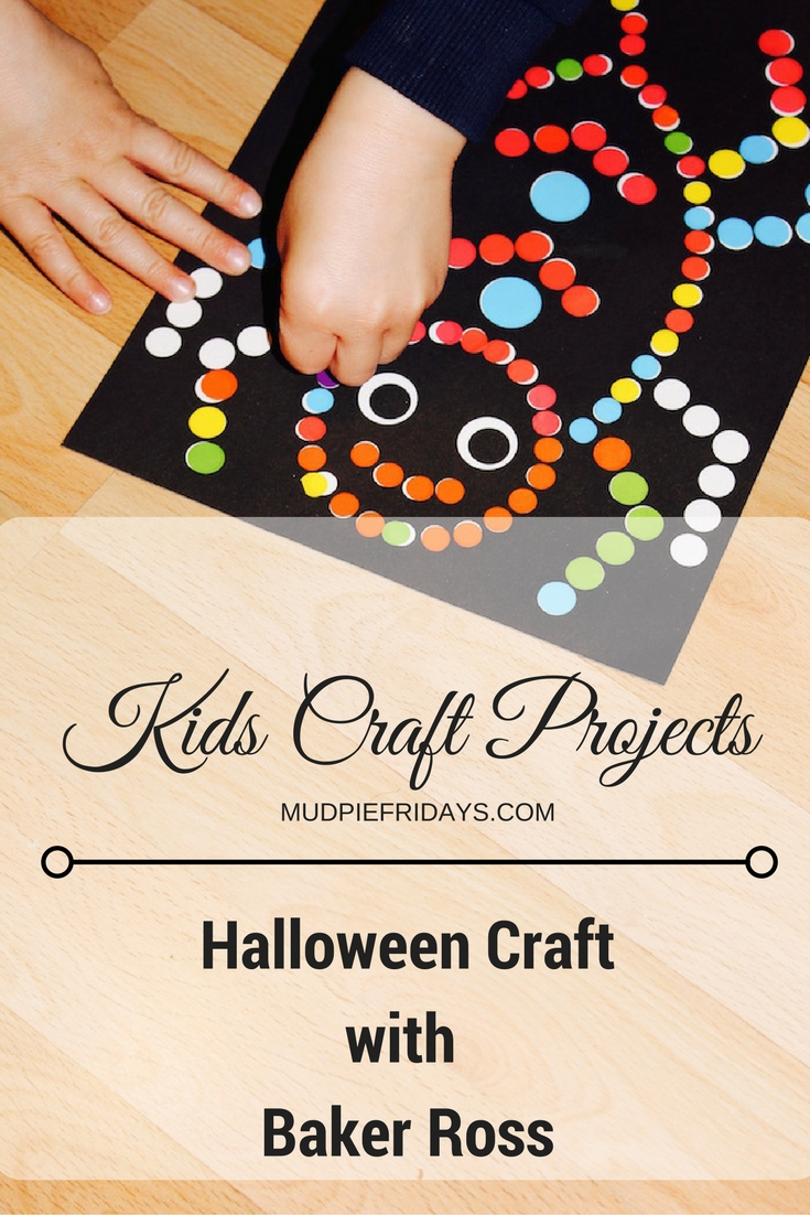 halloween craft projects with baker ross - mudpiefridays