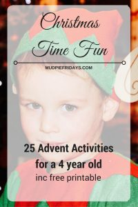 25 advent activities for a 4 year old. Black Bedroom Furniture Sets. Home Design Ideas