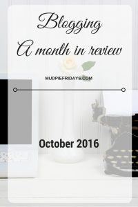 blogging-a-month-in-review