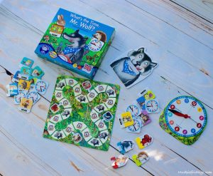 Whats the time Mr Wolf Orchard Toy game review