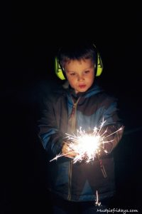 First sparkler experience