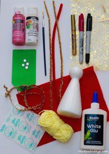 Make your own Christmas Tree Angel