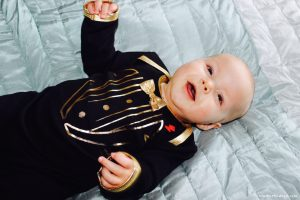 Rockabye originals tuxedo sleepsuit bling review