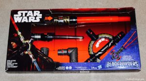 Star Wars BladeBuilders Spin-Action Lightsaber Review